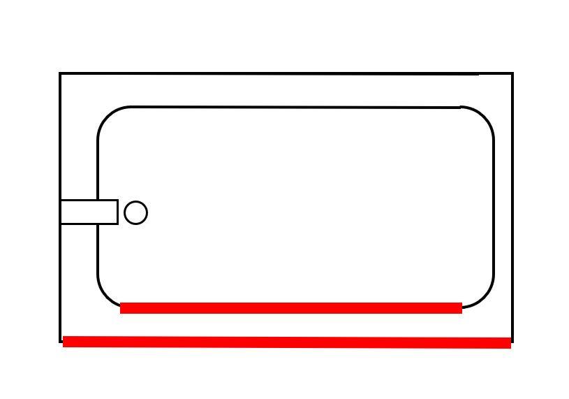 parallel tub wall steel tub