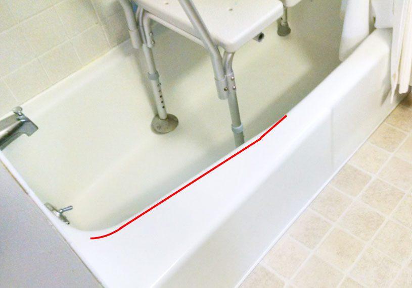 tapering rail tub